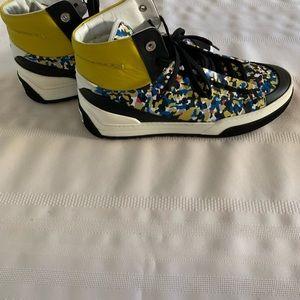 Fendi Bag Bugs Confetti Print men shoe